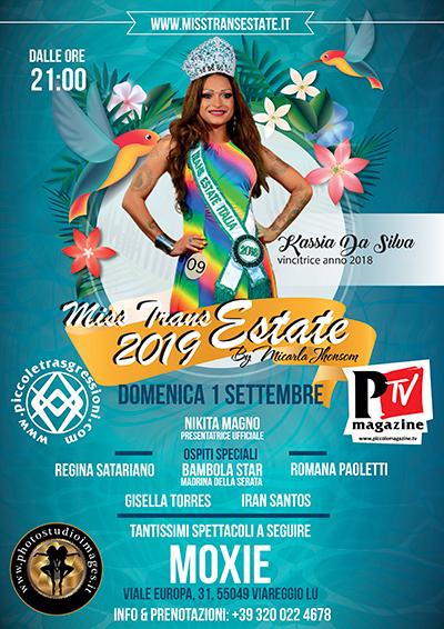 Locandina Miss Trans Estate 2019